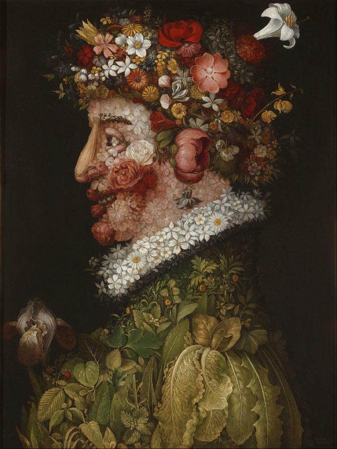 Giuseppe Arcimboldo, Spring, 1563 Louvre Museum, Paris