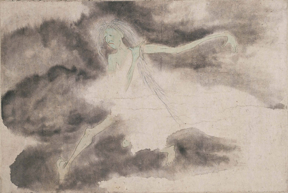 Luo Ping, Ghost Amusement Scroll, 1766, Private collection Luo Ping painter