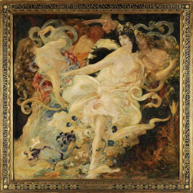 Mariano Fortuny Y Madrazo, Wagnerian Series: Parisfal, 1896, Palazzo Fortuny, mariano fortuny a genius from venice