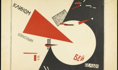 El Lissitzky Beat the Whites with the Red Wedge