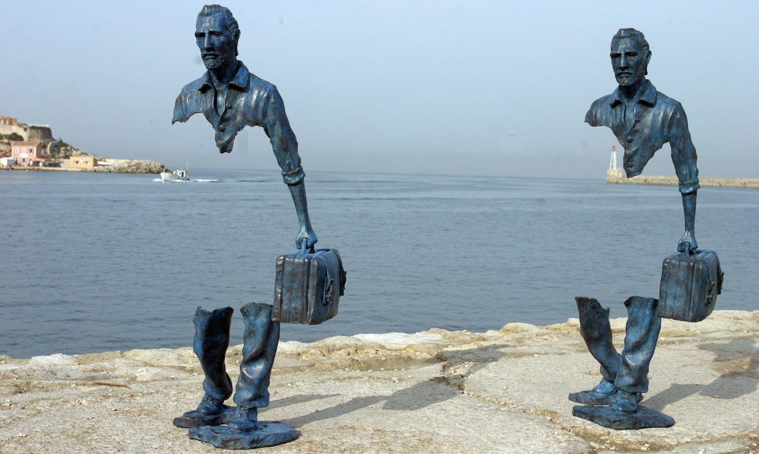 "Image result for ""Les Voyageurs"" or The Travelers bruno catalano"
