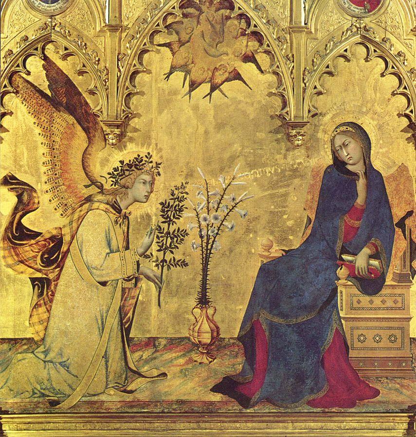 Simone Martini Annunciation