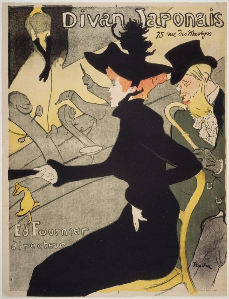 Henri de Toulous-Lautrec Divan Japonais Henri de Toulouse-Lautrec, Divan Japonais,Year circa 1893-1894, Museum of Modern Art, New York