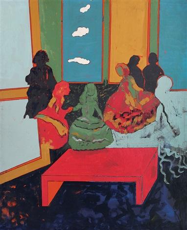 Tano Festa, From Las Meninas di Velazquez, 1972, private collection, Tano festa and his new old masters