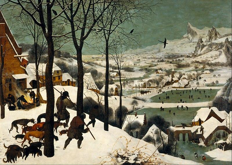 Pieter Bruegel Hunters in the Snow