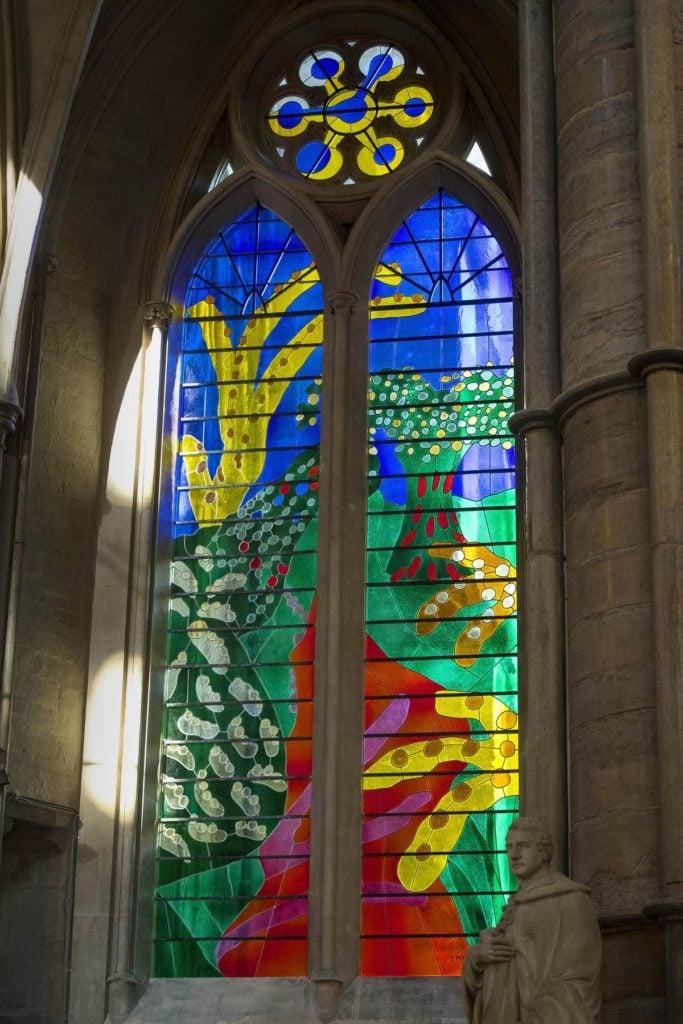 Hockney Queen's Window