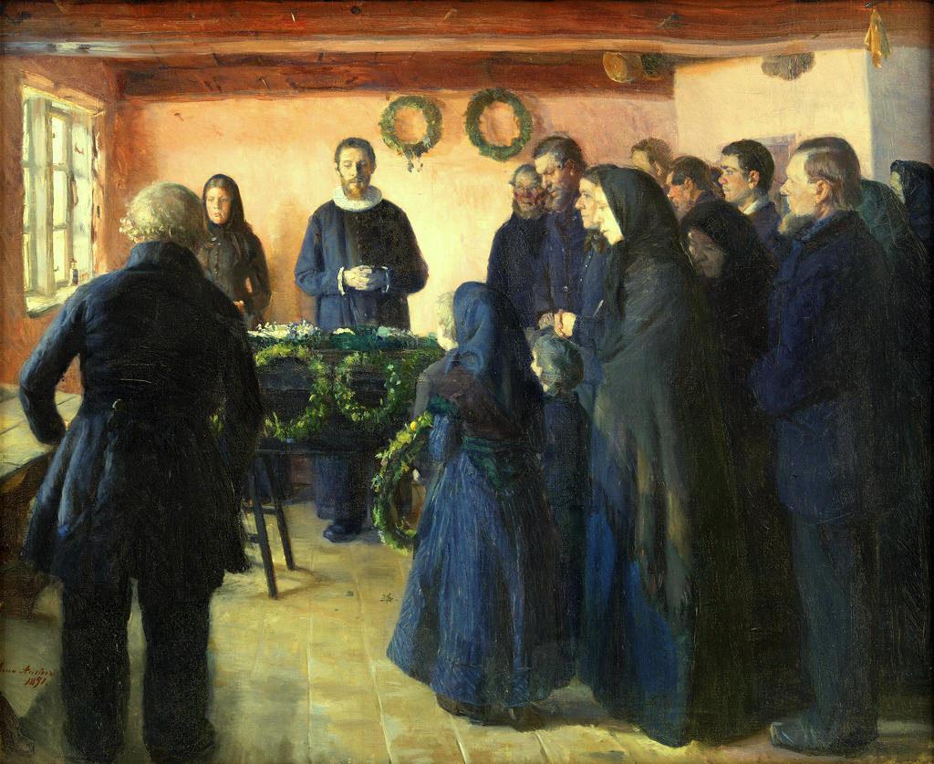 funeral paintings