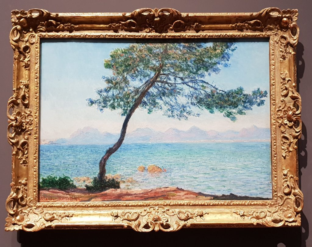 Claude Monet, Antibes, 1888, The Samuel Courtauld Trust, The Courtauld Gallery, London - post-Impressionists