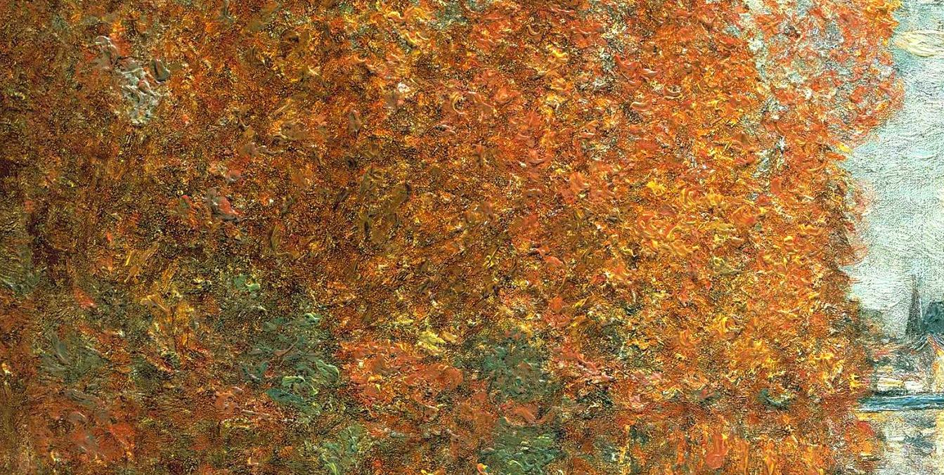 Claude Monet Autumn Effects at Argenteuil