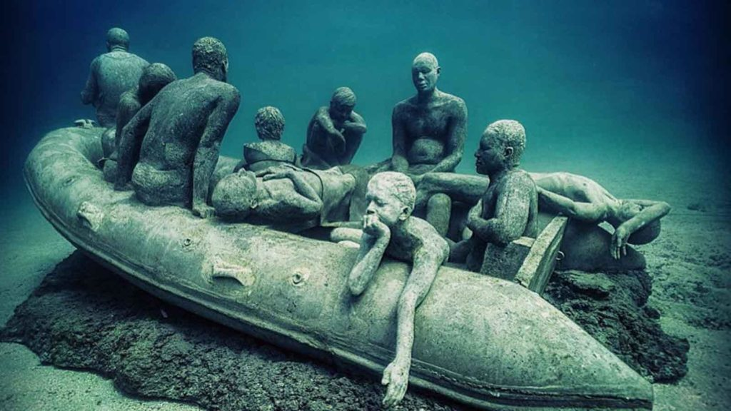 DeCaires Taylor's Underwater Museums