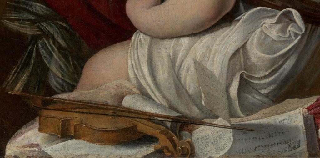 Caravaggio The Musicians Caravaggio, The Musicians, 1595, Metropolitan Museum of Art (detail)