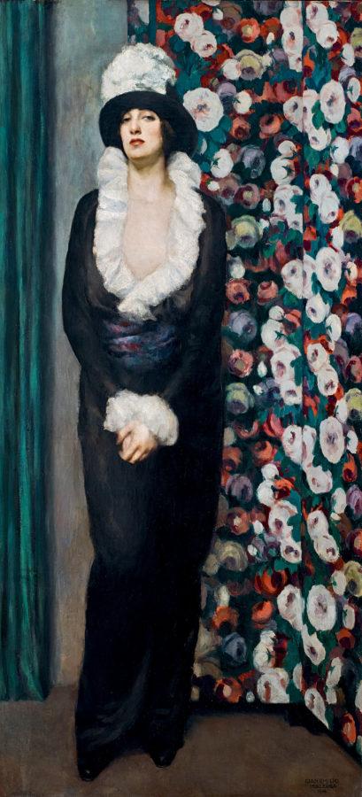 Gian Emilio Malerba, The Wait, 1916, Galleria Antologia in Monza, Italy; Margherita Sarfatti at Museo del Novecento