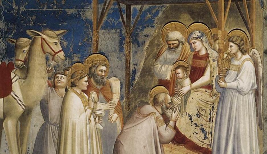 Giotto di Bondone, Adoration of the Magi