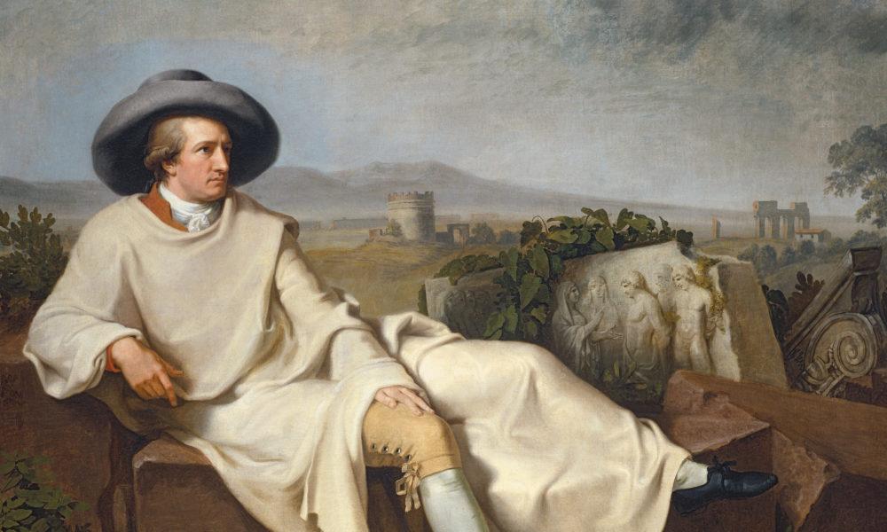 Tischbein, Goethe in the Roman Campagna