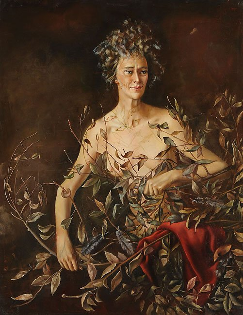 Leonor Fini, Portrait of Mrs Hasellter, 1942, Weinstein Gallery, San Francisco, CA
