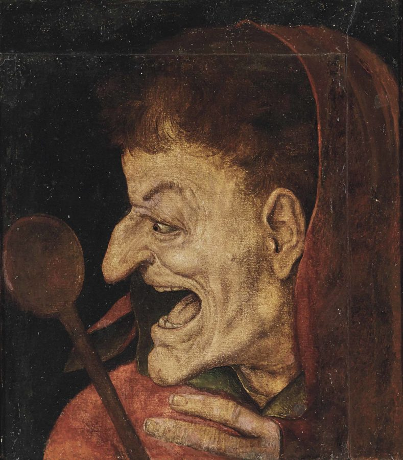 Flemish School, An allegory of gluttony, 16th Century, private collection, fat thursday