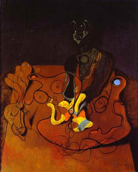 Max Ernst, A Night of Love, 1927, private collection, searching for love in art