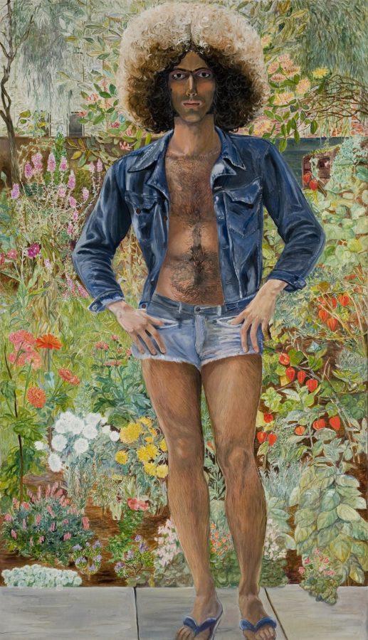 Sylvia Sleigh, Annunciation: Paul Rosano, 1975, © Estate of Sylvia Sleigh, Sylvia Sleigh, a slay girl