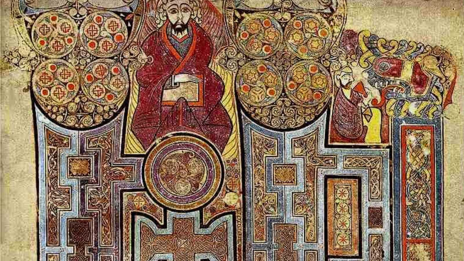 Book of Kells Fo.292r cover