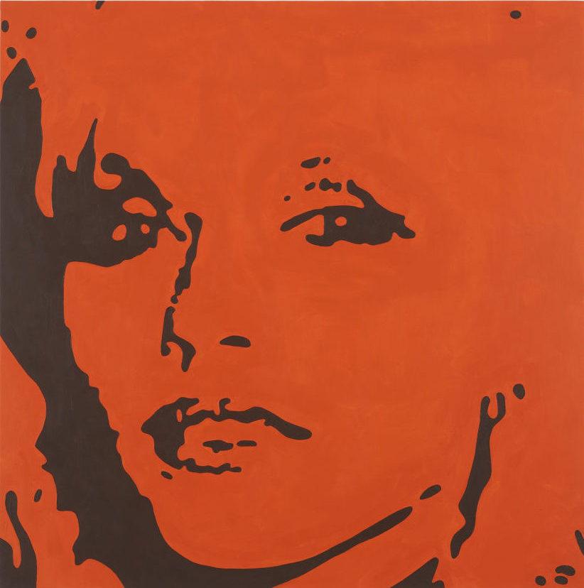 Merlin Carpenter, Blondie, 2014, Private collection © Merlin Carpenter; Portrait Paintings in Digital Times