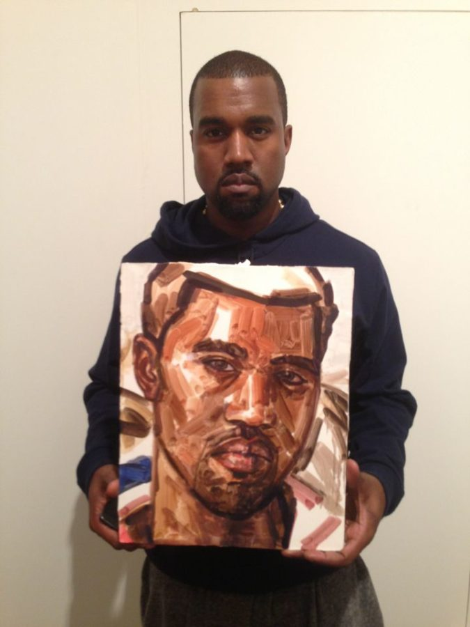 Elisabeth Peyton, Kanye West, 2010, Private collection © @kecia_benvenuto; Portrait Paintings in Digital Times