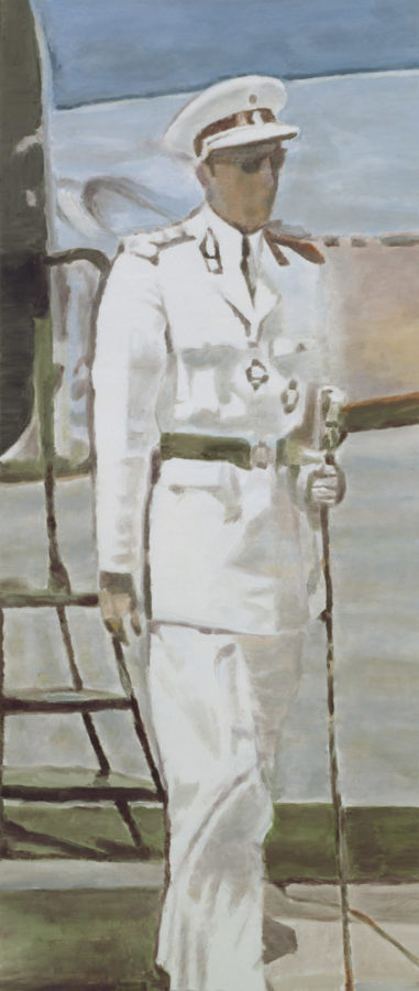 Luc Tuymans, Mwana Kitoko, 2000, SMAK, Ghent, Belgium; Portrait Paintings in Digital Times