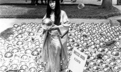 Yayoi Kusama, Narcissus Garden, 1966 Venice Biennale; Kusama's Narcissus Garden