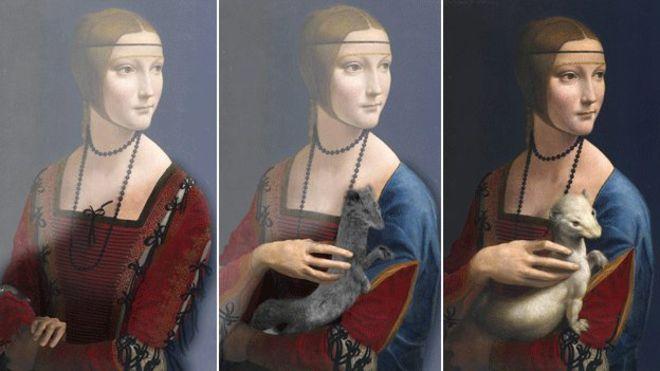Leonardo da Vinci, The Lady with an Ermine