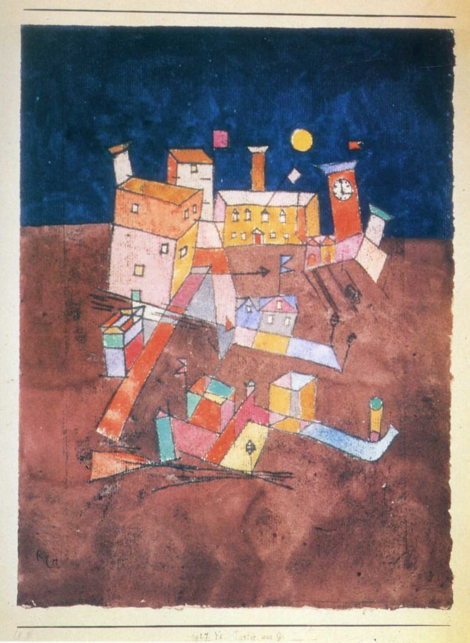 Paul Klee, Part of G, 1927, private collection, kandinsky's inspiration