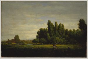 A Meadow Bordered by Trees, Théodore Rousseau, ca.1845