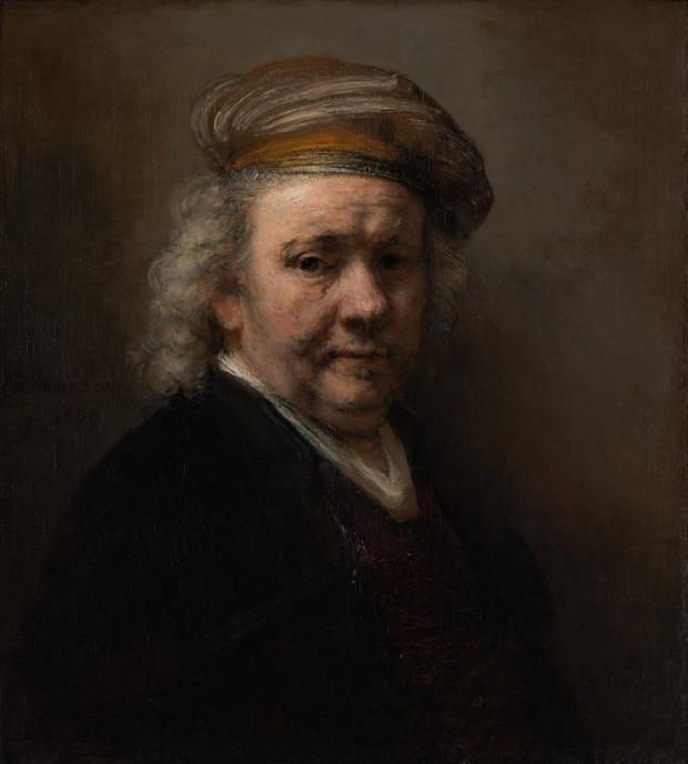 Rembrandt, Self-Portrait, 1669, Mauritshuis, The Hague Rembrandt's self-portraits
