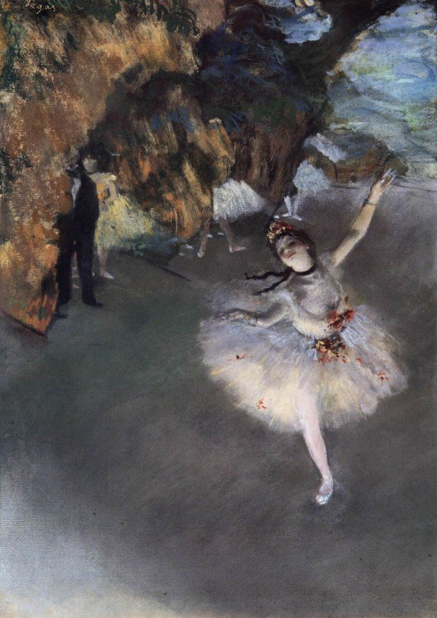 Edgar Degas, The Star - Dancer on the Stage, 1878, Musée d'Orsay, Paris