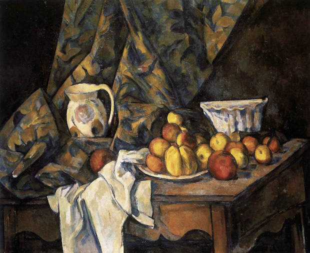 Paul Cezanne, Still Life with Apples and Peaches, 1905, National Gallery of Art, Washington