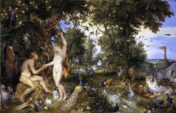 Peter Paul Rubens and Jan Breughel, The Garden of Eden, 1615