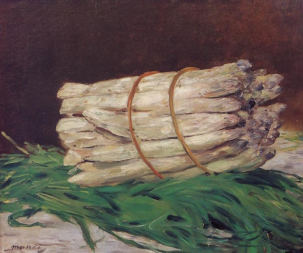 Édouard Manet, Bunch of Asparagus, 1880