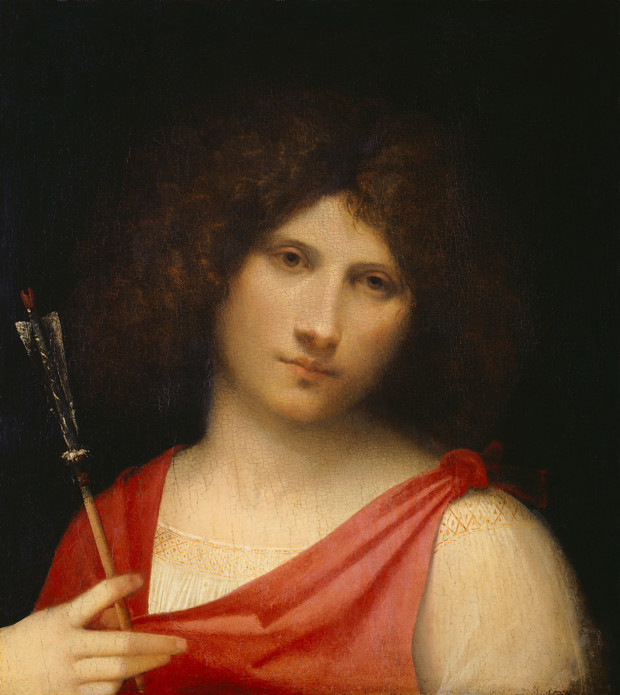 Giorgione, Young Man with Arrow, 1506, Kunsthistorisches Museum, Wien