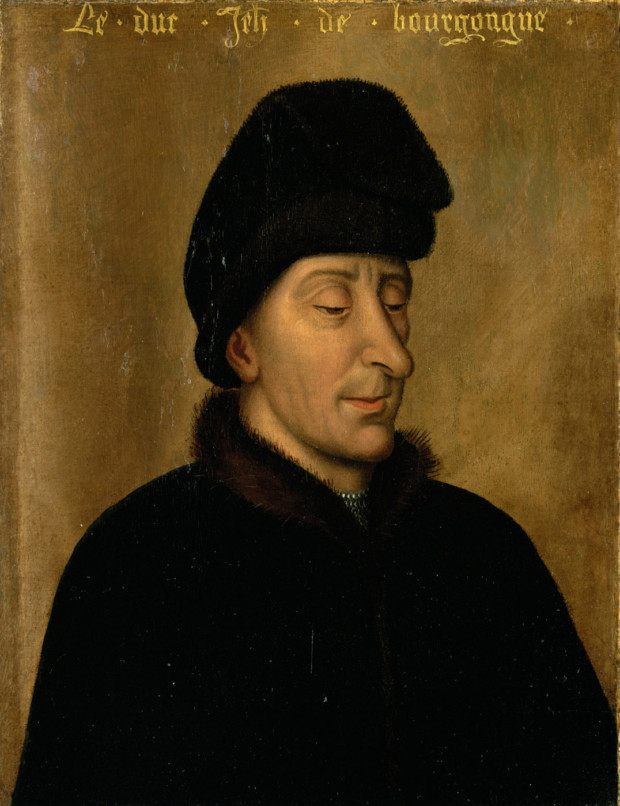 Anonymous Artist (copy of Rogier van der Weyden), Duke John the Fearless of Burgundy, around 1500, Kunsthistorisches Museum Vienna