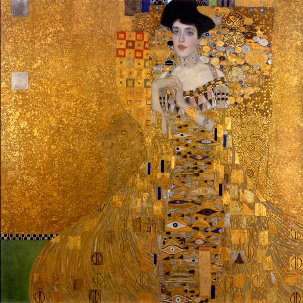 Gustav Klimt, Adele Bloch-Bauer I, 1907, Neue Galerie, New York