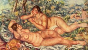 Pierre-Auguste Renoir, The Bathers, 1918-1919, Musée d'Orsay, Paris