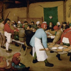 Pieter Bruegel the Elder, The Peasant Wedding, 1567, Kunsthistorisches Museum Vienna
