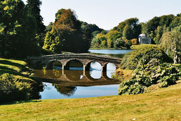 William Kent, Stourhead Garden, England
