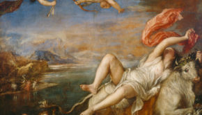 Titian, Rape of Europa, ca. 1560-62, Location	Isabella Stewart Gardner Museum, Boston