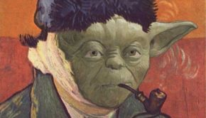 Yoda as Van Gogh, by somethingawful.com