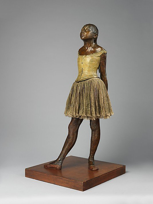 Edgar Degas, The Little Fourteen Year Old Dancer, ca. 1880, Metropolitan Museum of Art