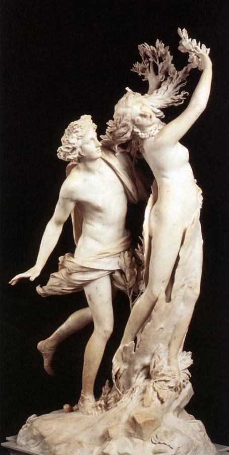 Gian Lorenzo Bernini, Daphne and Apollo. 1625