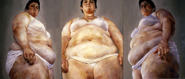 Jenny Saville, Strategy, 1994, The Broad, Los Angeles