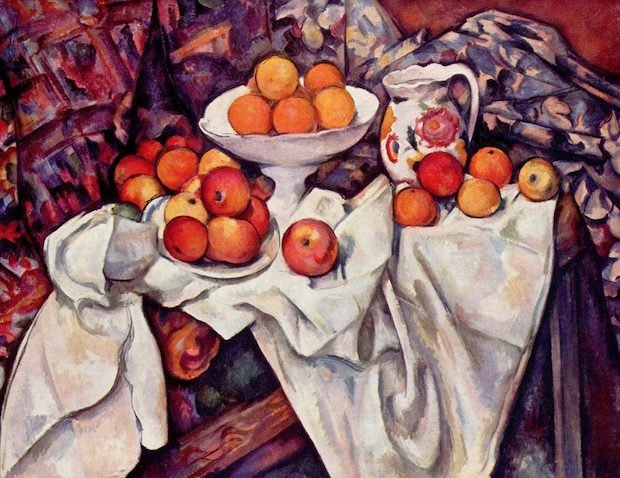 Paul Cezanne, Still Life with Apples and Oranges, 1899, Musée d'Orsay
