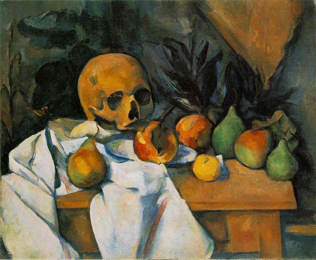 Paul Cezanne, Still Life with Scull, 1898, The Barnes Foundation