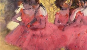 Edgar Degas, The Pink Dancers, Before the Ballet, 1884, Ny Carlsberg Glyptotek, Copenhagen