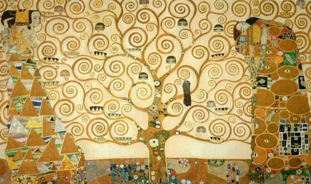 Gustav Klimt, Tree of Life, 1909, Museum of Applied Arts, Vienna